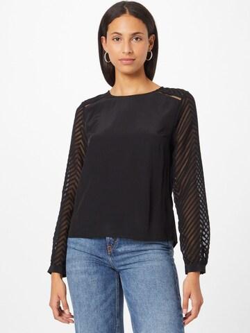 Camicia da donna 'Luisa' di ABOUT YOU in nero