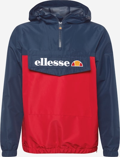 ELLESSE Prechodná bunda 'Mont 2' - námornícka modrá / červená / biela, Produkt
