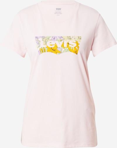 LEVI'S T-Krekls 'THE PERFECT', krāsa - dzeltens / debesu lillā / rožkrāsas, Preces skats