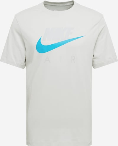 NIKE Tehnička sportska majica u tirkiz / svijetlosiva, Pregled proizvoda