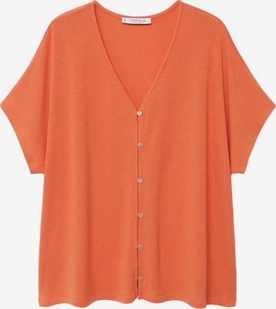 VIOLETA by Mango Koszulka w kolorze pomarańczowym, Podgląd produktu