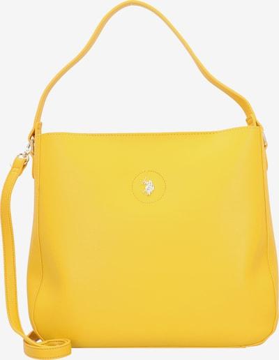 U.S. Polo Assn. Schultertasche 'Jones' in gelb, Produktansicht