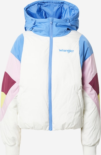 WRANGLER Jacke 'Rainbow' in hellblau / limone / rosa / bordeaux / weiß, Produktansicht