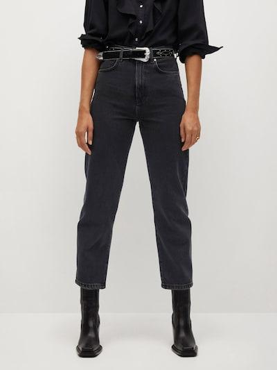 MANGO Jeansy 'Veronica' w kolorze czarnym, Podgląd na modelu(-ce)