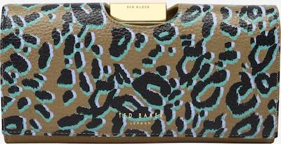 Ted Baker Tegnebog 'Naadia' i turkis / lyseblå / oliven / sort, Produktvisning