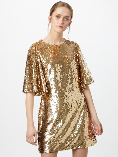 MINKPINK Koktejlové šaty 'RYLEE' - zlatá, Model/ka
