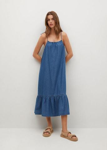 MANGO Kleid 'Gaial-H' in Blau