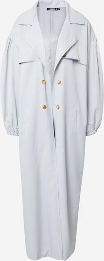 Missguided Manteau mi-saison en bleu clair, Vue avec produit