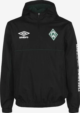 UMBRO Trainingsjacke 'Werder Bremen' in Schwarz