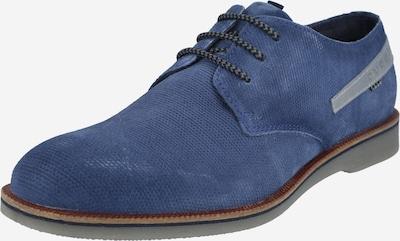 bugatti Schnürschuh 'Melchiore' in blau, Produktansicht