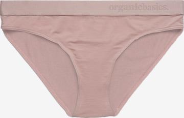 Organic Basics Panty in Pink
