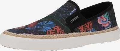 SCOTCH & SODA Slip-on obuv 'Izomi' - dymovo modrá / tmavomodrá / svetlofialová / svetlooranžová / grenadínová, Produkt