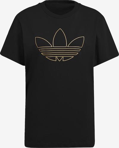 ADIDAS ORIGINALS Shirt in Gold / Black, Item view