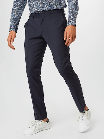 J.Lindeberg Plisované nohavice 'Paulie' - tmavomodrá, Model/-ka