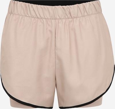 NU-IN Sportsbukser i beige / sort, Produktvisning