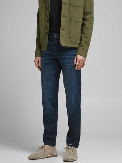 JACK & JONES Jeans 'Mike Ron JOS 350' in dunkelblau, Modelansicht