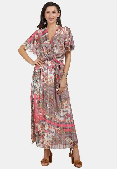 usha FESTIVAL Kleid in mischfarben / rosa, Modelansicht