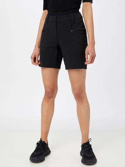 ZIENER Sporthose 'Nugla X-Function' in schwarz: Frontalansicht