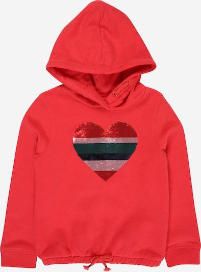 STACCATO Sweatshirt in de kleur Donkerblauw / Donkergroen / Karmijnrood / Watermeloen rood / Zilver: Vooraanzicht