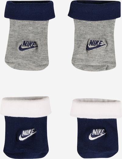 Nike Sportswear Ponožky 'FUTURA' - tmavomodrá / sivá melírovaná / biela, Produkt
