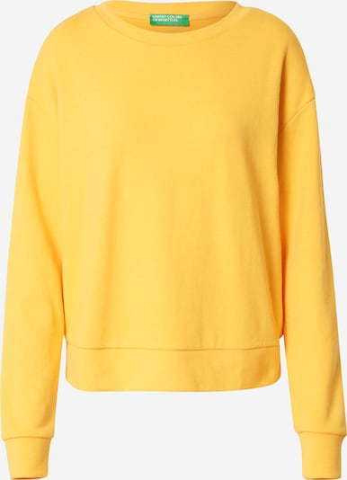 UNITED COLORS OF BENETTON Sportisks džemperis, krāsa - dzeltens, Preces skats