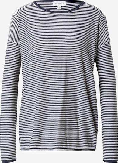 ARMEDANGELS Shirt  'LADAA' in creme / dunkelblau, Produktansicht