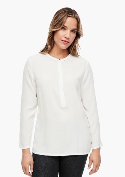 TRIANGLE Bluse in weiß, Modelansicht