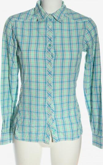 SALEWA Langarmhemd in S in blau / pastellgelb / grün, Produktansicht