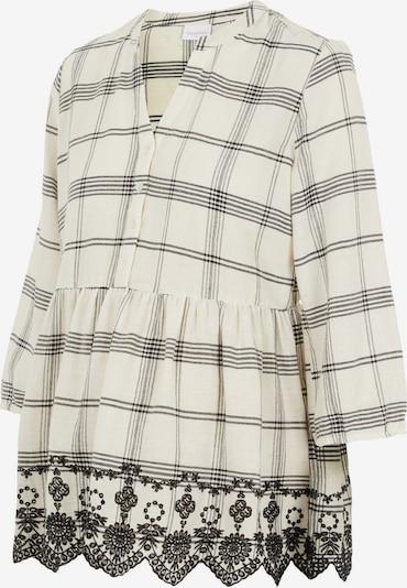 MAMALICIOUS Bluza 'Hanni Lia' | kremna / črna barva, Prikaz izdelka