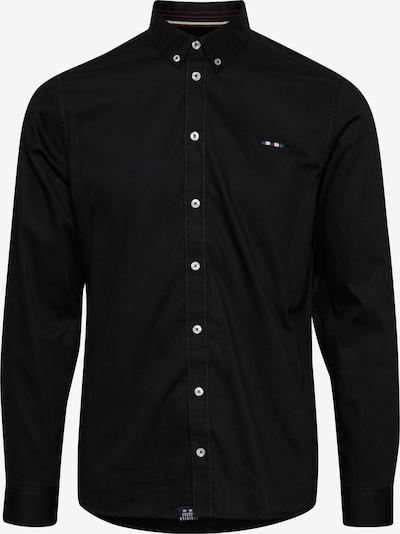 FQ1924 Langarmhemd 'Halvar' in schwarz, Produktansicht