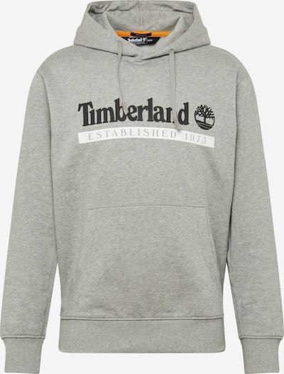 TIMBERLAND Mikina - šedá / černá / bílá, Produkt