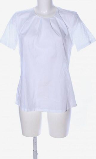 Jacques Britt Kurzarm-Bluse in M in weiß, Produktansicht