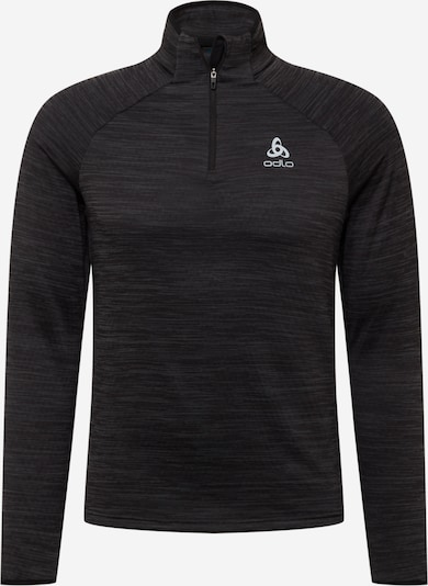 ODLO Athletic Sweatshirt 'Millennium' in Grey / Black, Item view