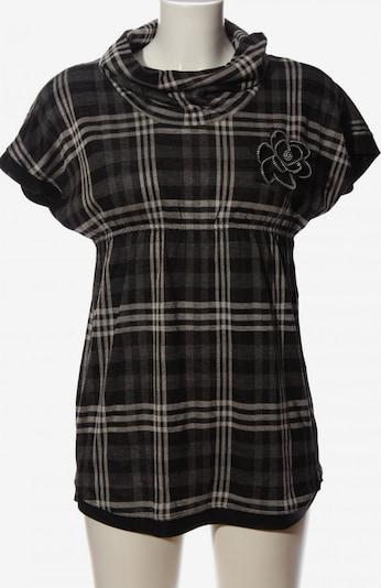 Xanaka Longshirt in S in hellgrau / schwarz / weiß, Produktansicht