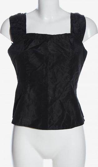 UNBEKANNT Cropped Top in S in schwarz, Produktansicht