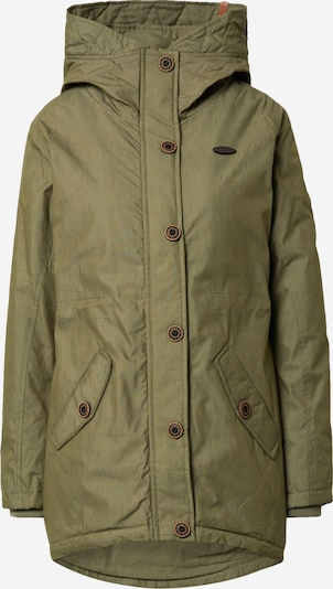 Alife and Kickin Parka 'Flora' in khaki, Produktansicht