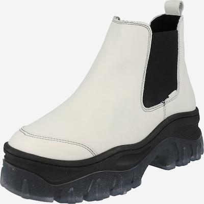 BRONX Chelsea boots 'Jaxstar' in Black / Off white, Item view