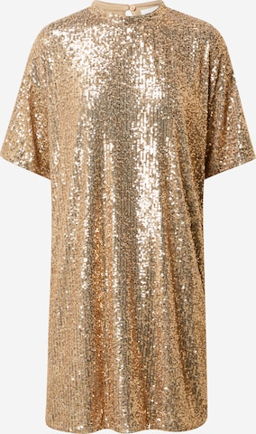 BOSS Casual Cocktail Dress 'Esenni' in Gold