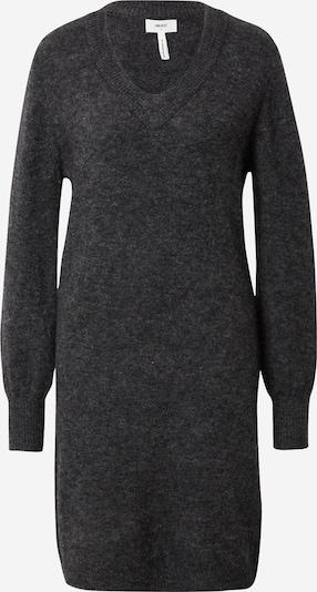 OBJECT Gebreide jurk 'NETE' in de kleur Donkergrijs, Productweergave