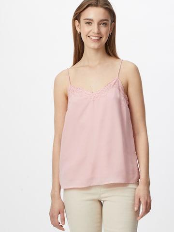 Bluză 'PAMELA' de la PIECES pe roz