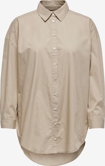 ONLY Bluse 'Vigga' in taupe, Produktansicht
