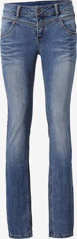 Jeans 'Alwa im Used-Look' de la heine pe albastru