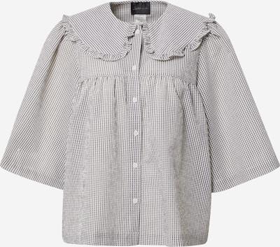 Stella Nova Блуза 'Safa' в сиво / бяло, Преглед на продукта