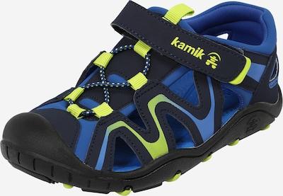 Kamik Sandalen 'KICK' in de kleur Navy / Nachtblauw / Lichtgroen, Productweergave