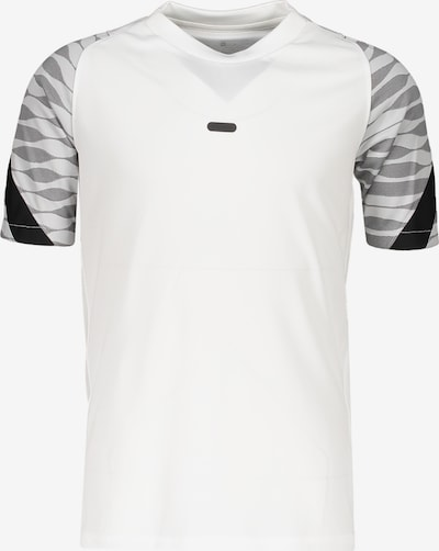 NIKE T-Shirt in grau / schwarz / weiß, Produktansicht