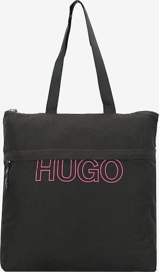 HUGO Shopper in dunkelpink / schwarz, Produktansicht