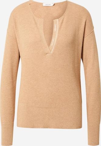 Calvin Klein Pullover in Beige