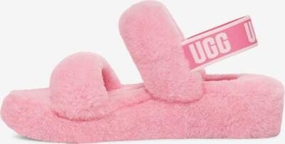 UGG Sandale in pink / weiß, Produktansicht