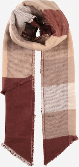 PIECES Scarf 'RECCA' in Beige / Light brown / Dark brown, Item view