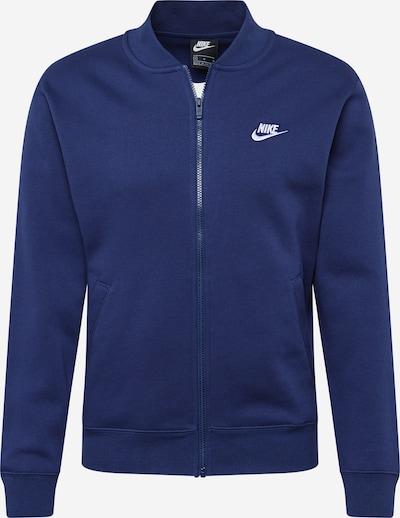 Nike Sportswear Tepláková bunda - námornícka modrá / biela, Produkt
